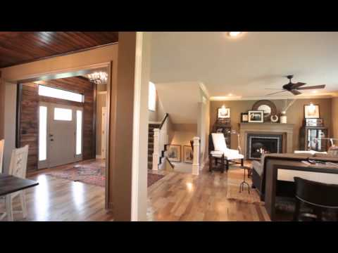 The Hepton - a two story floor plan by Rodrock Homes