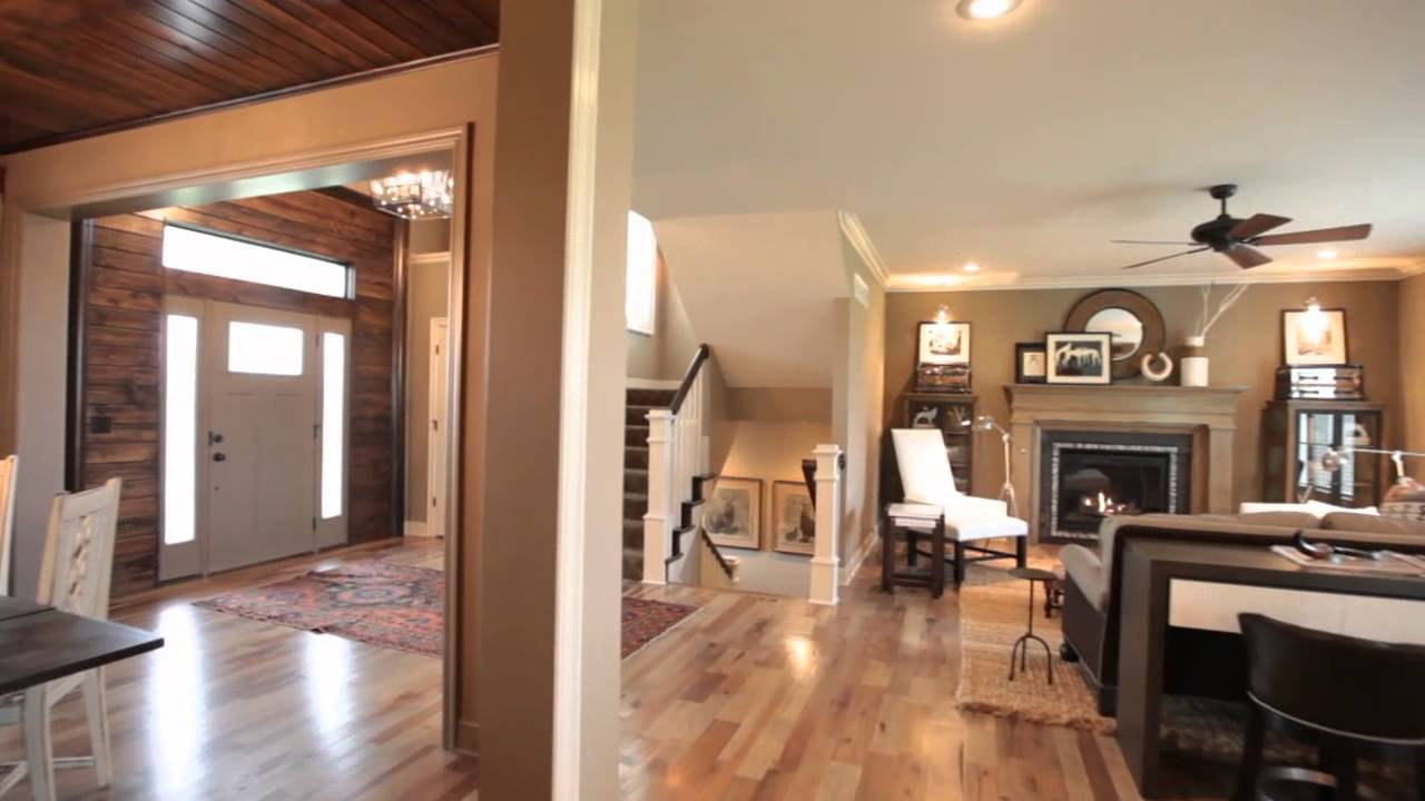 The Hepton   a two story floor plan by Rodrock Homes   YouTube