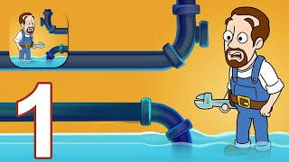 Home Pipe: Water Puzzle - Gameplay Walkthrough Part 1 All Level (Android,iOS)