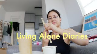 Living Alone Diaries | Last day in my Brooklyn, New York apartment, cleaning and furniture shopping!