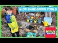 Kids Gardening Tools Toy Set by Innocheer - How to Plant Seeds for a Garden - Willy's Toys
