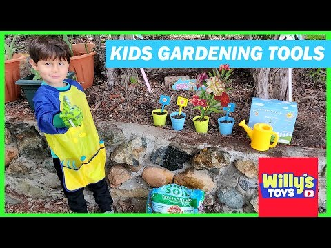 Kids Gardening Tools Toy Set by Innocheer How to Plant Seeds for a Garden Willy's Toys