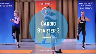 Low impact, high intensity cardio and ab workout  at home HIIT fat burning interval exercises