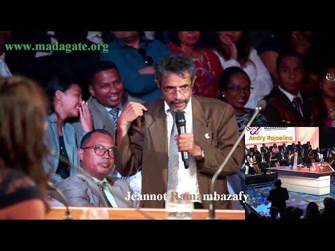 Andry Rajoelina IEM mamaly an'i Jeannot Ramambazafy