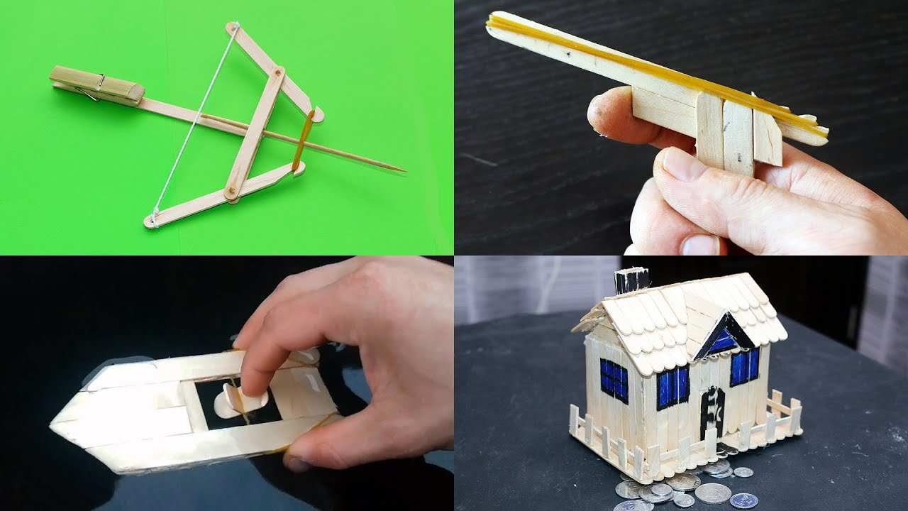 Toys You Can Make Using Popsicle Sticks