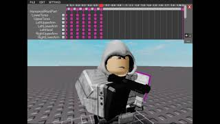 Animation Making [Sorry But Roblox Made My Computer Like Not Responded.]