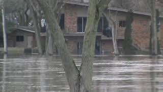 Great Historic Flood In Sodus, MI
