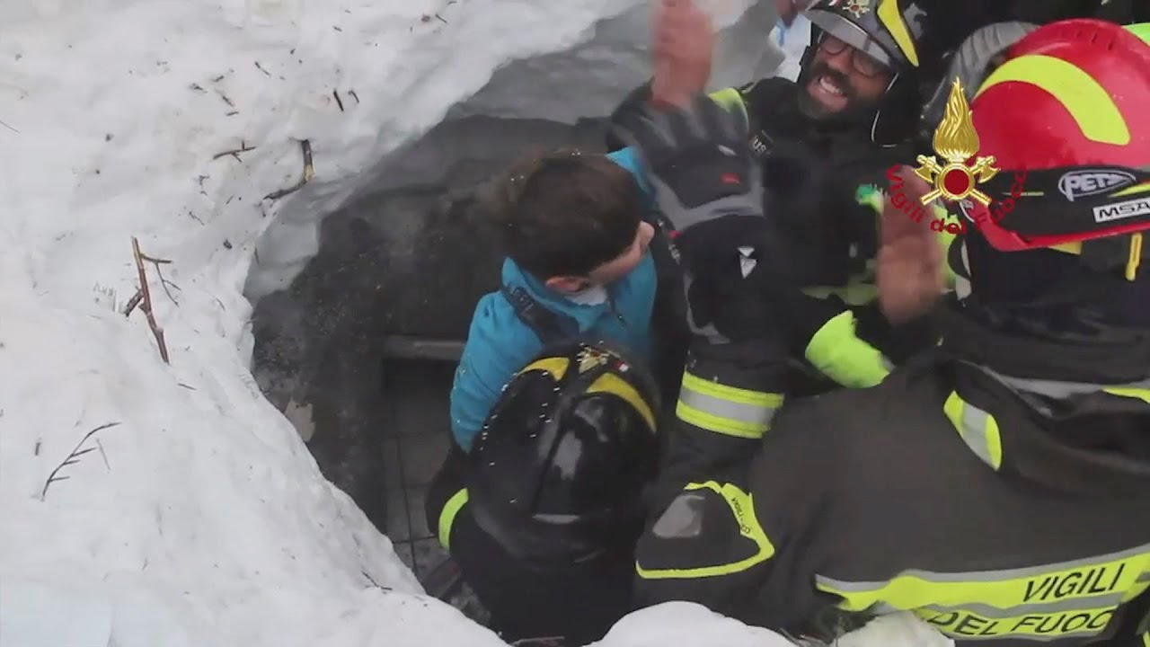 Rigopiano hotel avalanche first funerals as search goes on bbc news - Miraculous Survival 8 Pulled From The Rubble Of Hotel Rigopiano Italy
