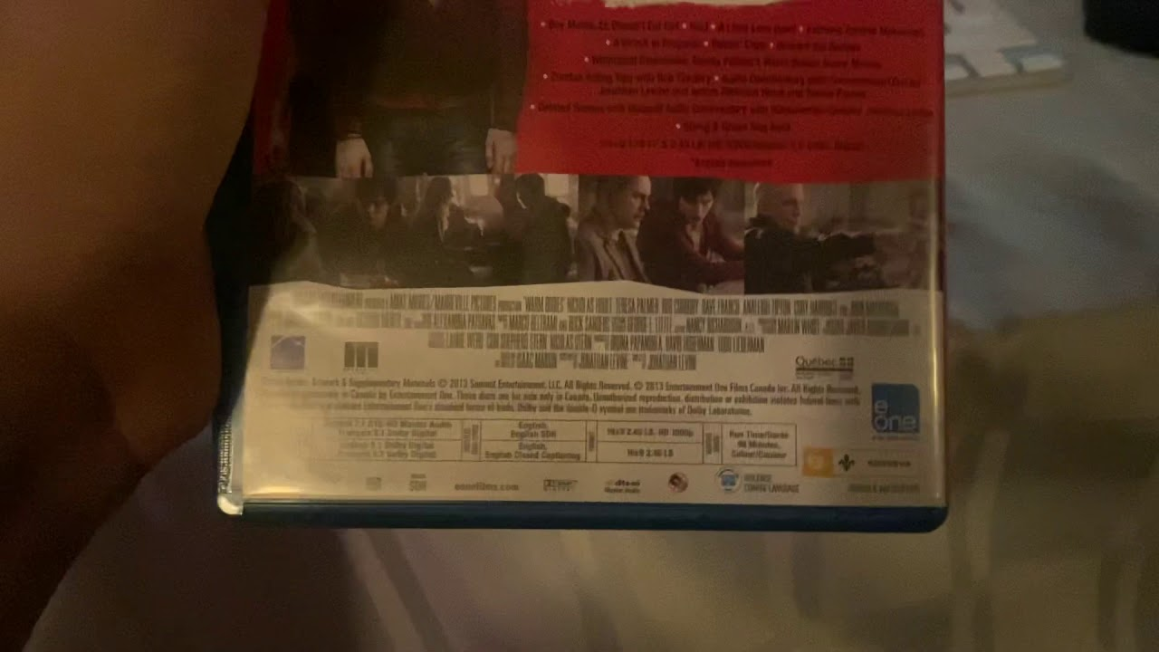 Download Opening to Warm Bodies 2013 DVD
