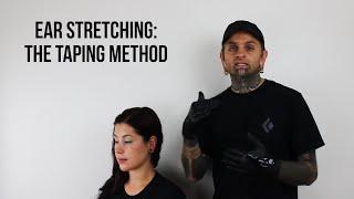 Ear Stretching: The Taping Method | UrbanBodyJewelry.com