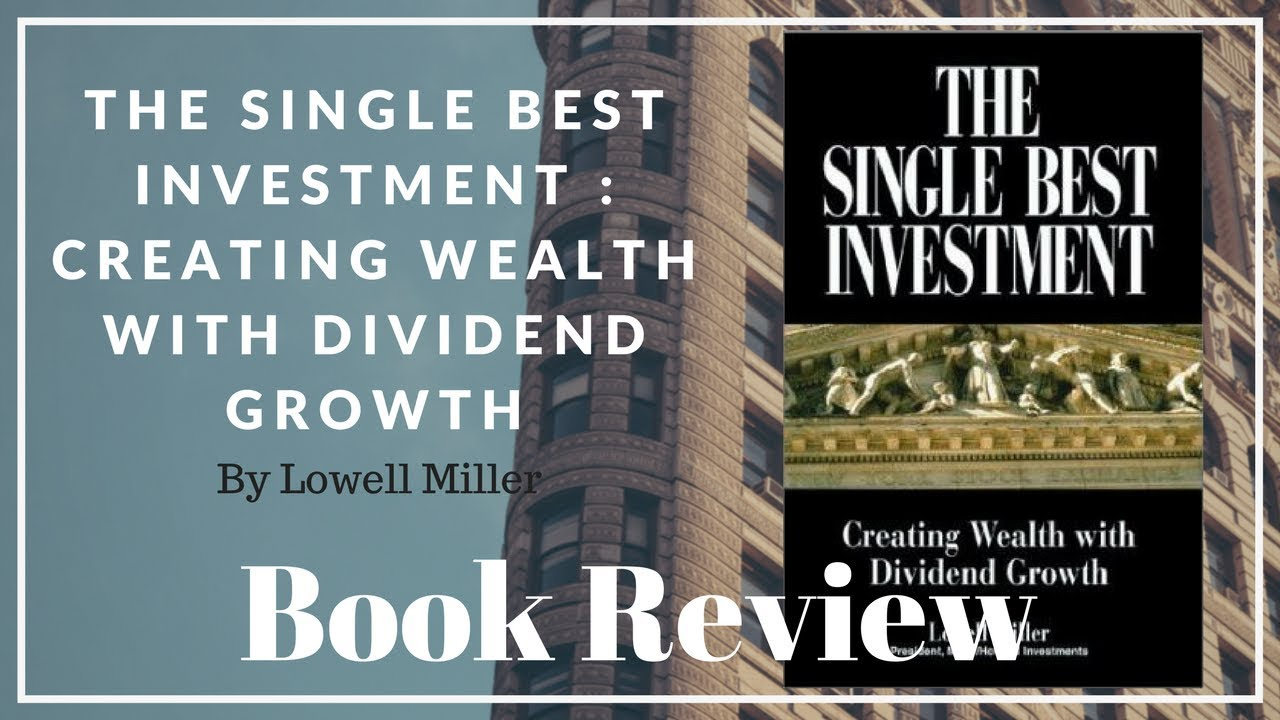 The single best investment lowell miller indicateur adx forex trading