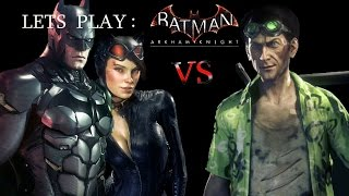 Riddler on Mech ! Batman / Catwoman VS Riddler Epic Boss Battle