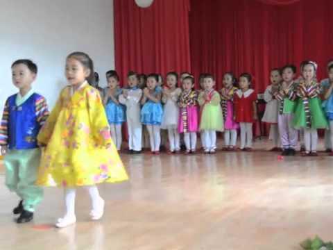 infant school  in North Korea