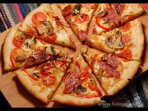 Пицца с шампиньонами!