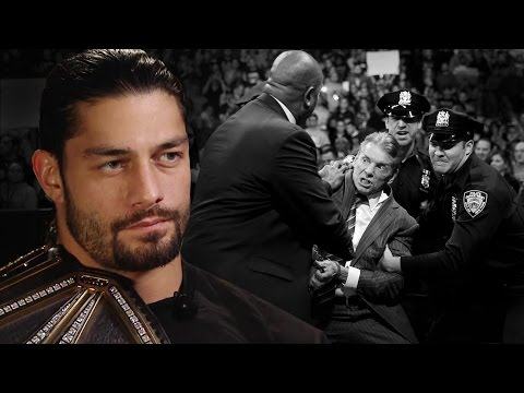 What is Roman Reigns' New Year's Resolution?:   Dec. 30, 2015