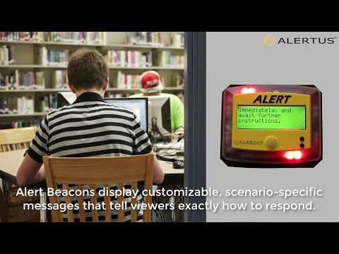 Emergency Mass Notification: Alert Beacons for Schools and Campuses