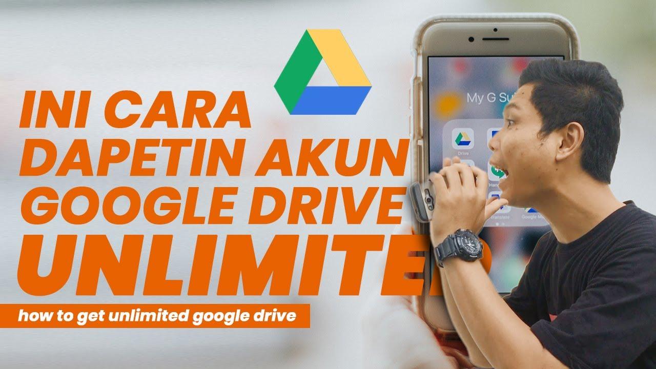 Cara Upload Google Drive Unlimited Dari Hp Youtube