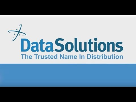 DataSolutions The Trusted Name In Distribution