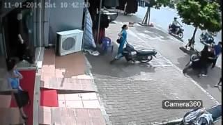 Cameraquansat.biz - Ăn chộm xe SH quá nhanh và nguy hiểm!