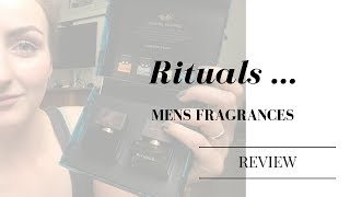 Rituals ... |  Perfume review 2 mens fragrances !