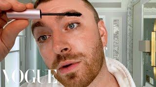 SamSmith's Fresh Skin Care & 4-Step Makeup Routine | Beauty Secrets | Vogue