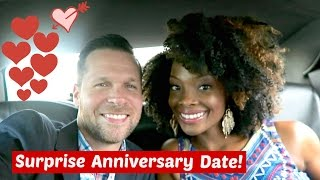 SURPRISE ANNIVERSARY DATE!