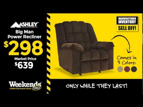 Ashley Big Man Recliner Only $298!  sc 1 st  YouTube & Ashley Big Man Recliner Only $298! - YouTube islam-shia.org