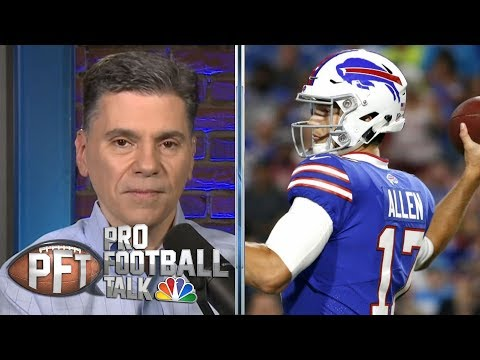 Offseason examination: Is Josh Allen ready to step up? | Pro Football Talk | NBC Sports