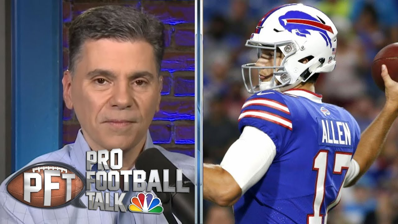 Offseason examination: Is Josh Allen ready to step up? | Pro Football Talk | NBC Sports