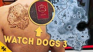 ПАСХАЛКИ - GTA 5 БОЛЬШАЯ ТАЙНА, WATCH DOGS 3 ПЛАКАТ