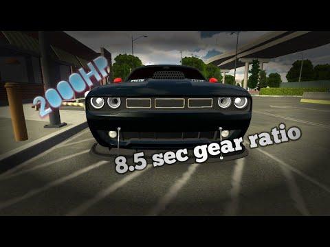 Dodge Challenger Gearbox-Car Parking