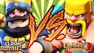 CLASH ROYALE VS CLASH OF CLANS :: L'AFFRONTEMENT FINAL CHALLENGE !