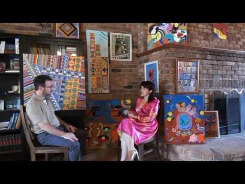 Pictură Nineta BĂRBULESCU - Interviu de Matei Schinteie - Canberra Australia 05.Dec.2016 !