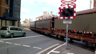 Canute Road Level Crossing 15/08/14