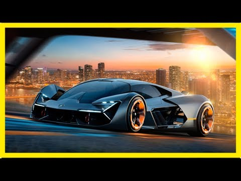 Lamborghini terzo millennio electric hypercar unveiled in partnership with mit