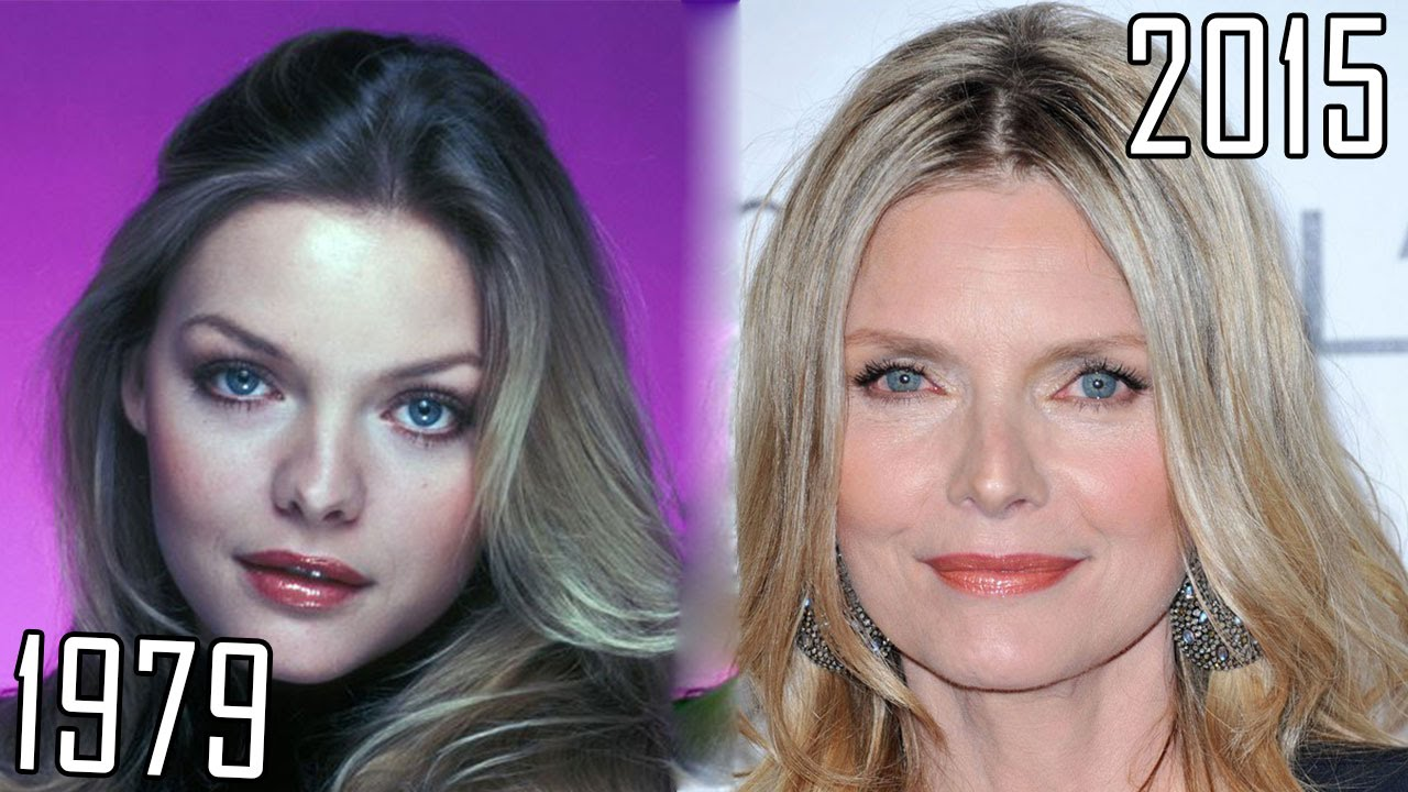 Angelina Jolie Plastic >> Michelle Pfeiffer (1979-2015) all movies list from 1979! How much has changed? Before and Now ...