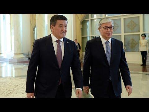 Выступления Токаева и Жээнбекова на саммите ЕАЭС