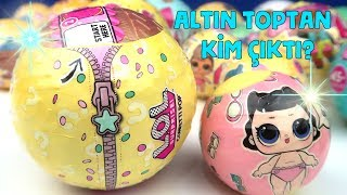 LOL Confetti Pop 3. Seri 2. Dalga Lil Sisters Challenge! Altın Topu Kim Buldu? Bidünya Oyuncak