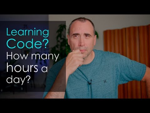 How Many Hours A Day Should You Spend Learning Code?