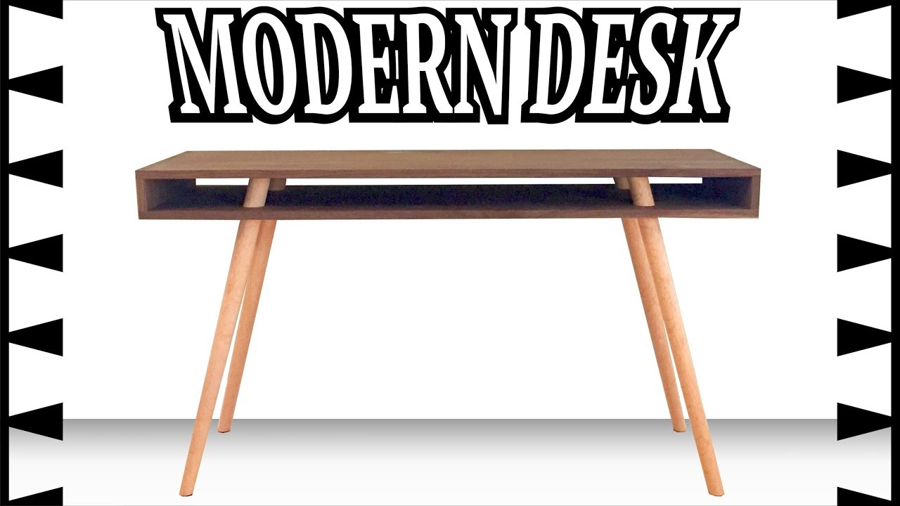 mid century modern desk how to woodwork dovetails