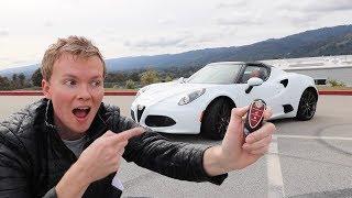 Alfa Romeo 4C Spider 2015 Videos