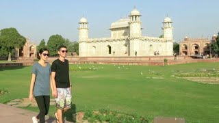 India Vlog: Agra Fort, Baby Taj, Taj Mahal Sunset!