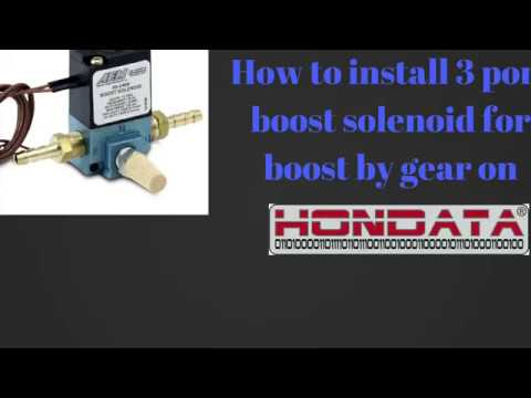 How To Install 3 Port Boost Solenoid (Boost by Gear) On Civic EG/Integra  Port Solenoid Wiring Diagram Volt on 12 volt battery bank wiring diagram, universal relay wiring diagram, 98 f150 radio wiring diagram, 12 volt cigarette socket wiring diagram, 24 volt fan relay diagram, 12 volt boat wiring diagram, 24v trolling motor wiring diagram, 24 volt solenoid valve, 12 volt parallel battery wiring diagram, series parallel switch wiring diagram, 24 volt starting system diagram, 24 volt starter diagram, 24 volt starter relay, 24 volt battery diagram, 24 volt solenoids 7,