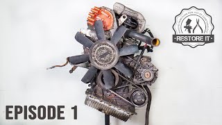 BMW E30 M40B16 Engine Restoration - Rebuild Time-Lapse | Part 1