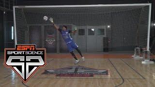 Jarrett Allen Uses His Impressive Hops To Block Kicks | Sport Science | ESPN