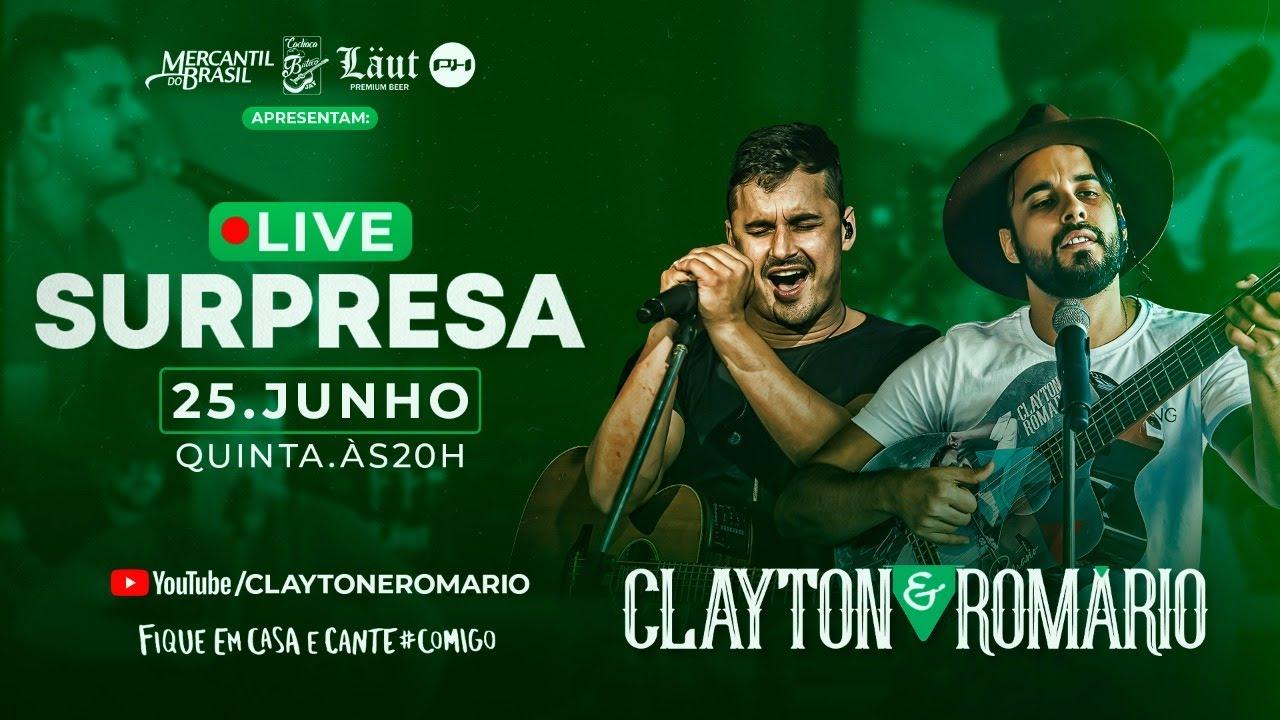Download Clayton e Romário - Live Surpresa