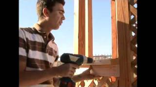How To Build A Gazebo - 21.installing A Gazebo Flower Box