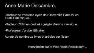 🌟🌟 Anne Marie Delcambre L'étude de C.Luxenberg 🌟🌟