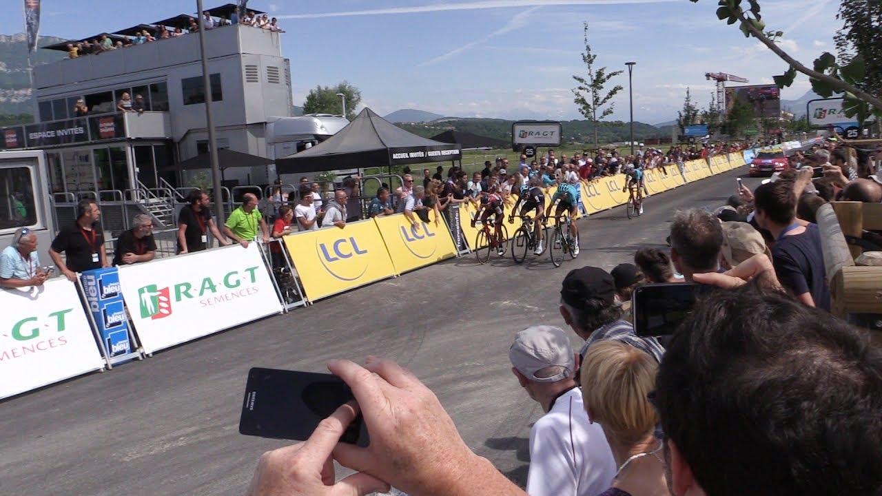 Savoie Technolac, un anniversaire à vélo