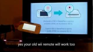 HOW TO CONNECT WII U PT2